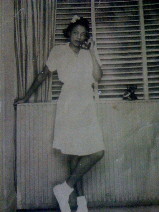 My grandma at 16.
