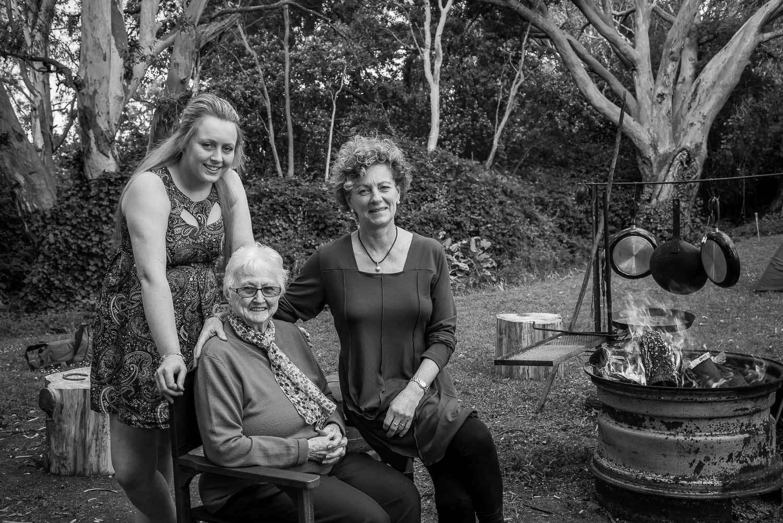 Women Three Generations