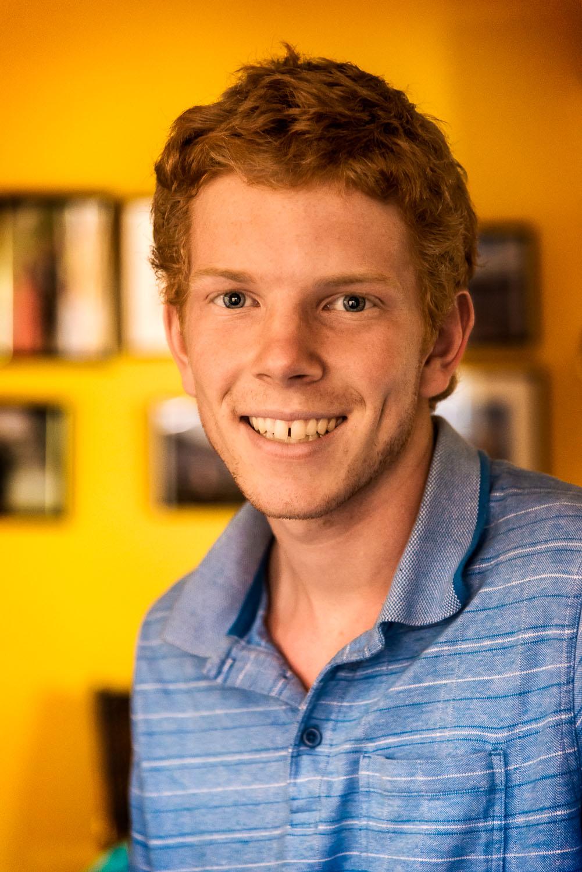 Matthew Guy  at his nana's house in  Hamilton , Victoria,  Australia