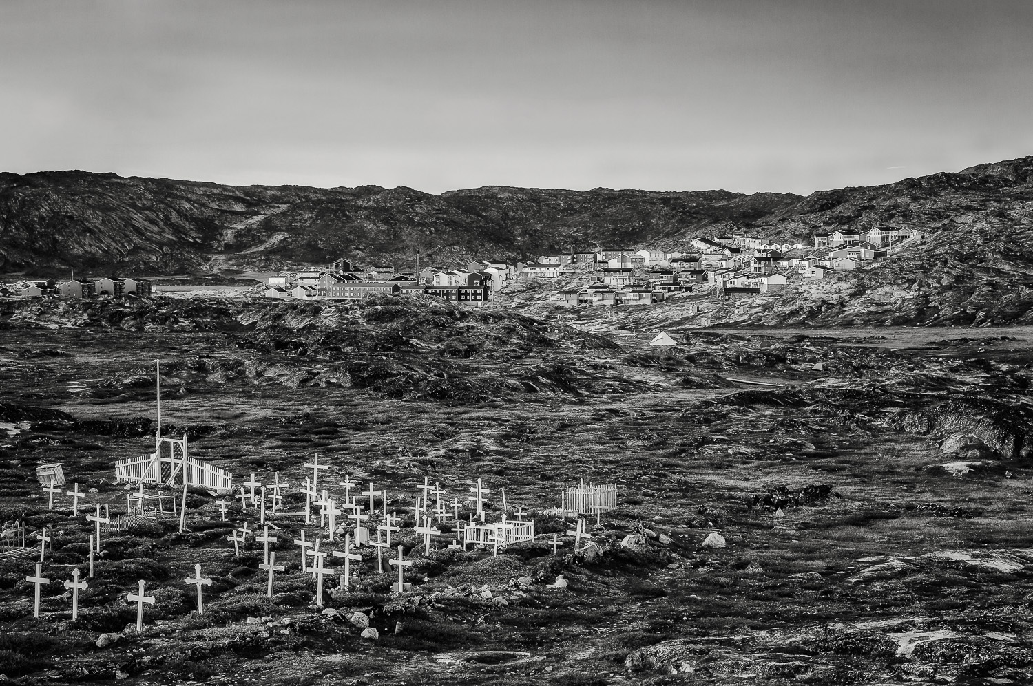 Cemetery and Town Outskirts, Ilulissat, Greenland