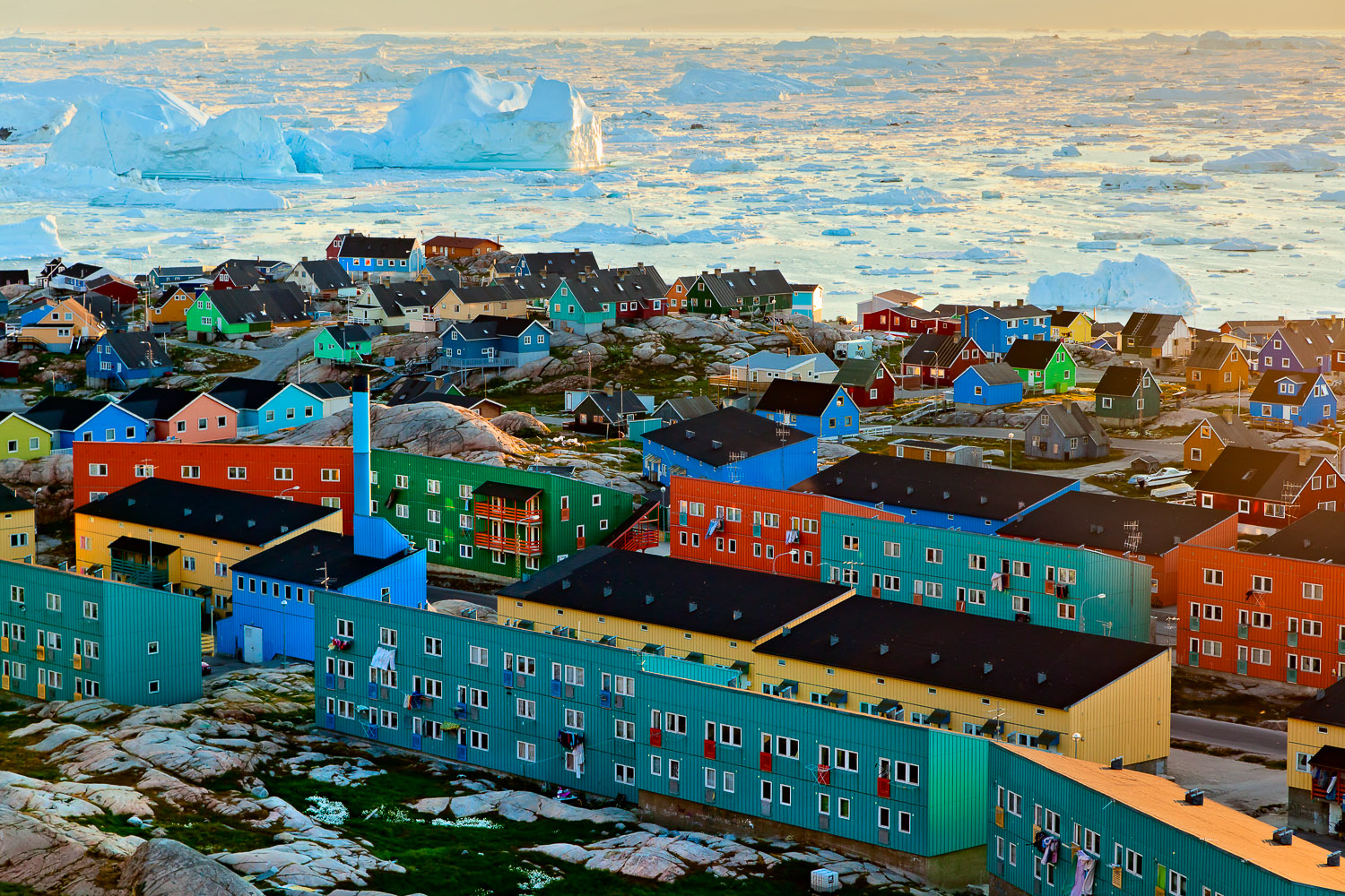 Apartments and Houses, Ilulissat, Greenland