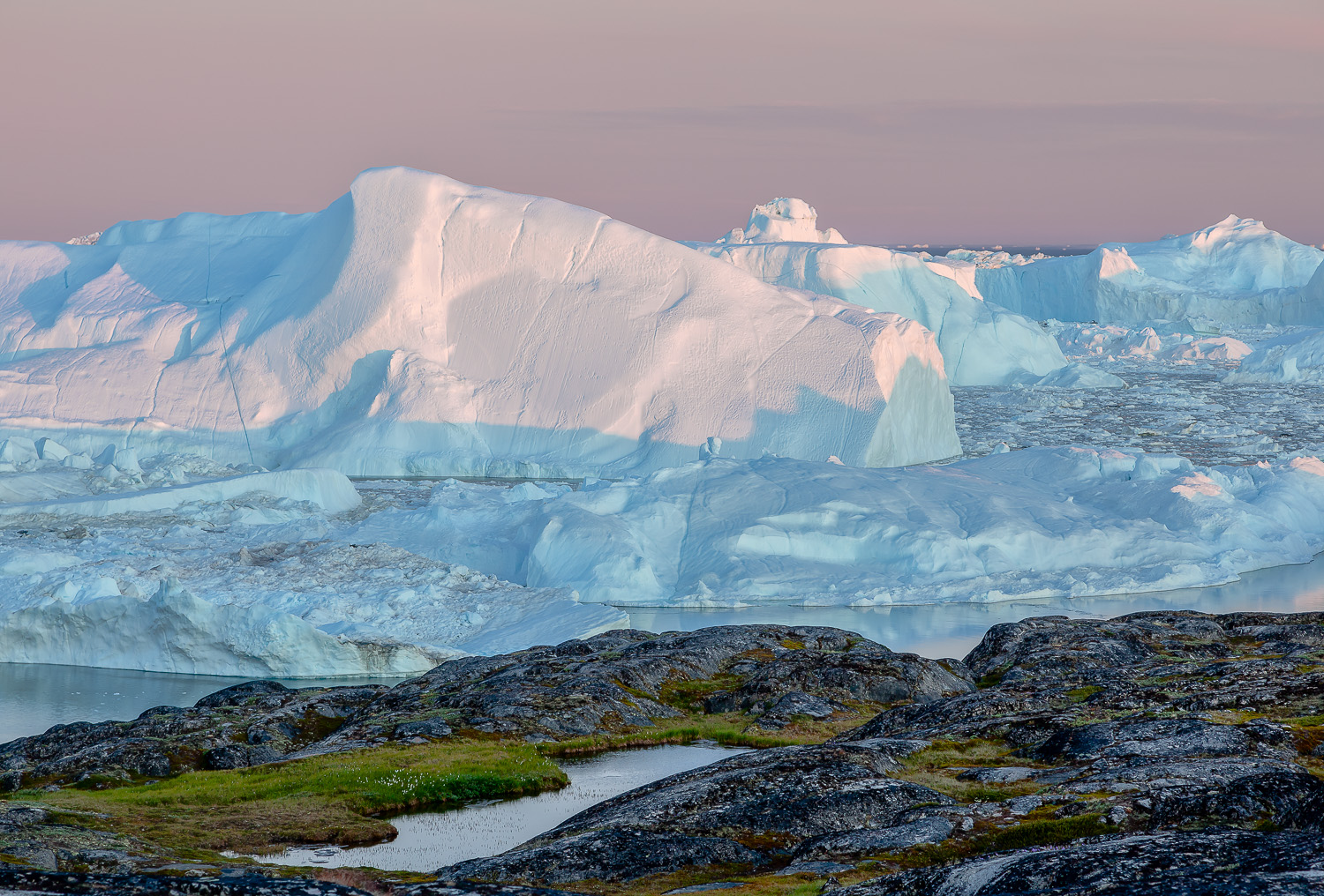 Rock and Ice, Ilulissat Icefjord, Greenland