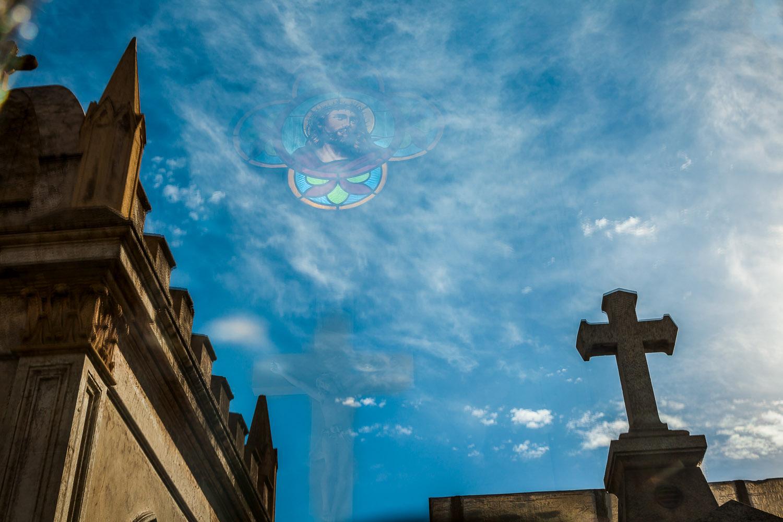 The Face On The Cross, La Recoleta Cemetery