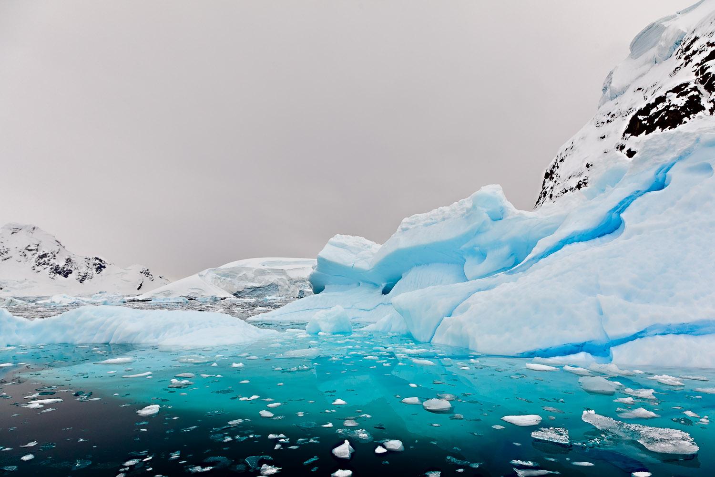 Ice, Paradise Harbour, Antarctica