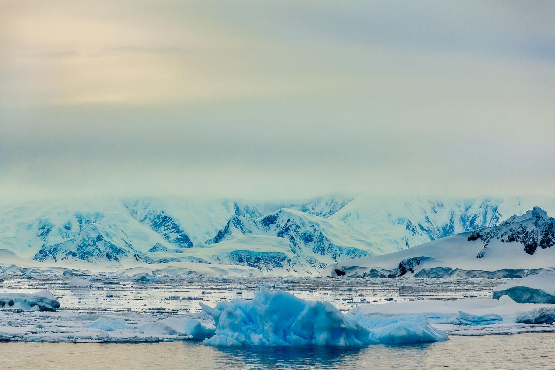 View towards Curverville Island, Antarctica