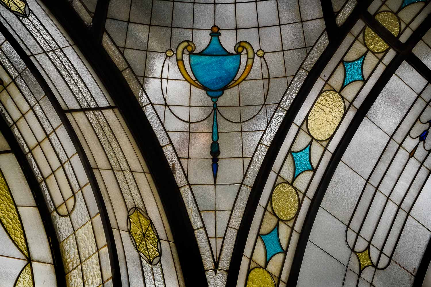 A lovely detail from the recently restored ground floor arcade at the  Nicholas Building, Swanston Street, Melbourne .