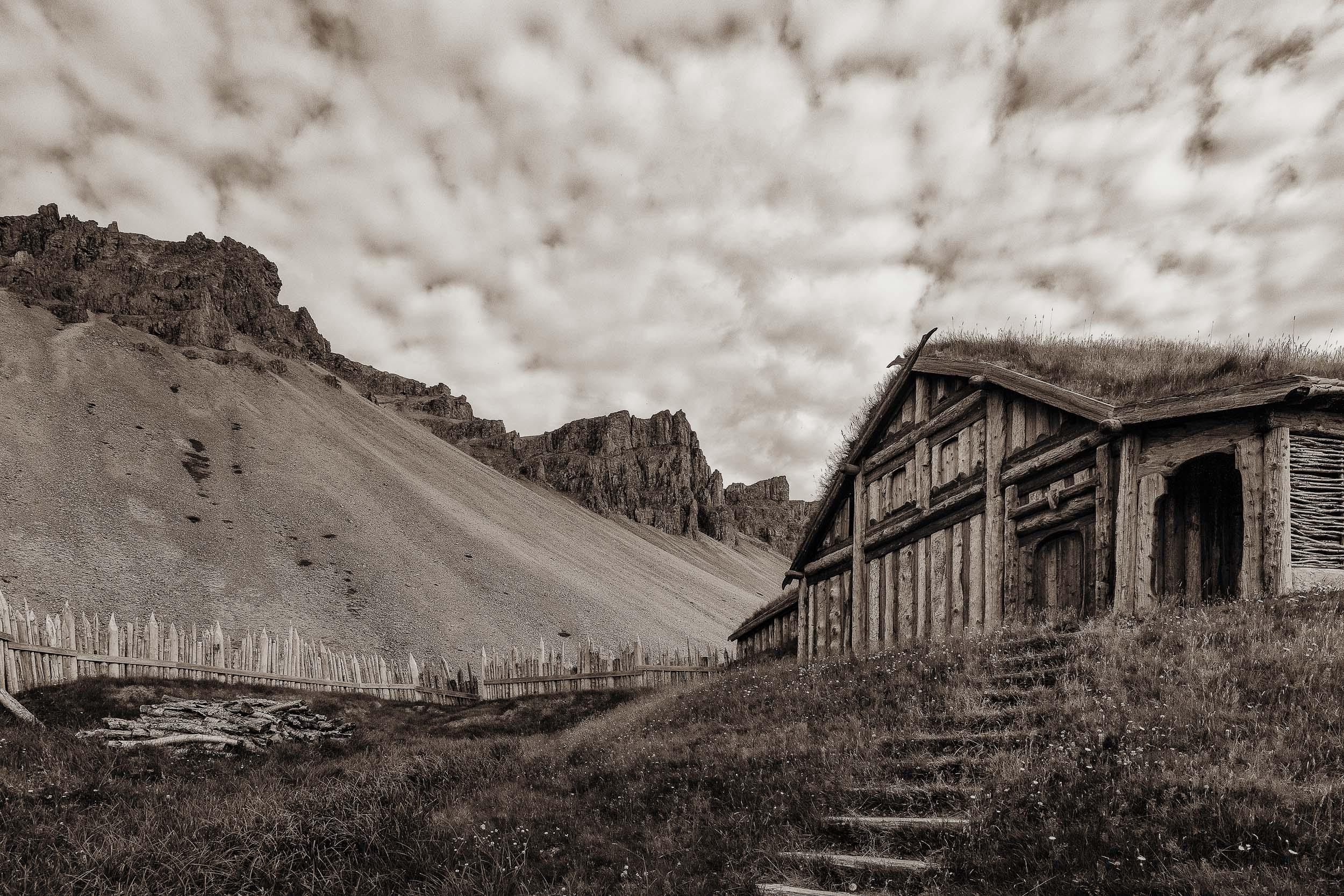 Viking Village Replica, Iceland