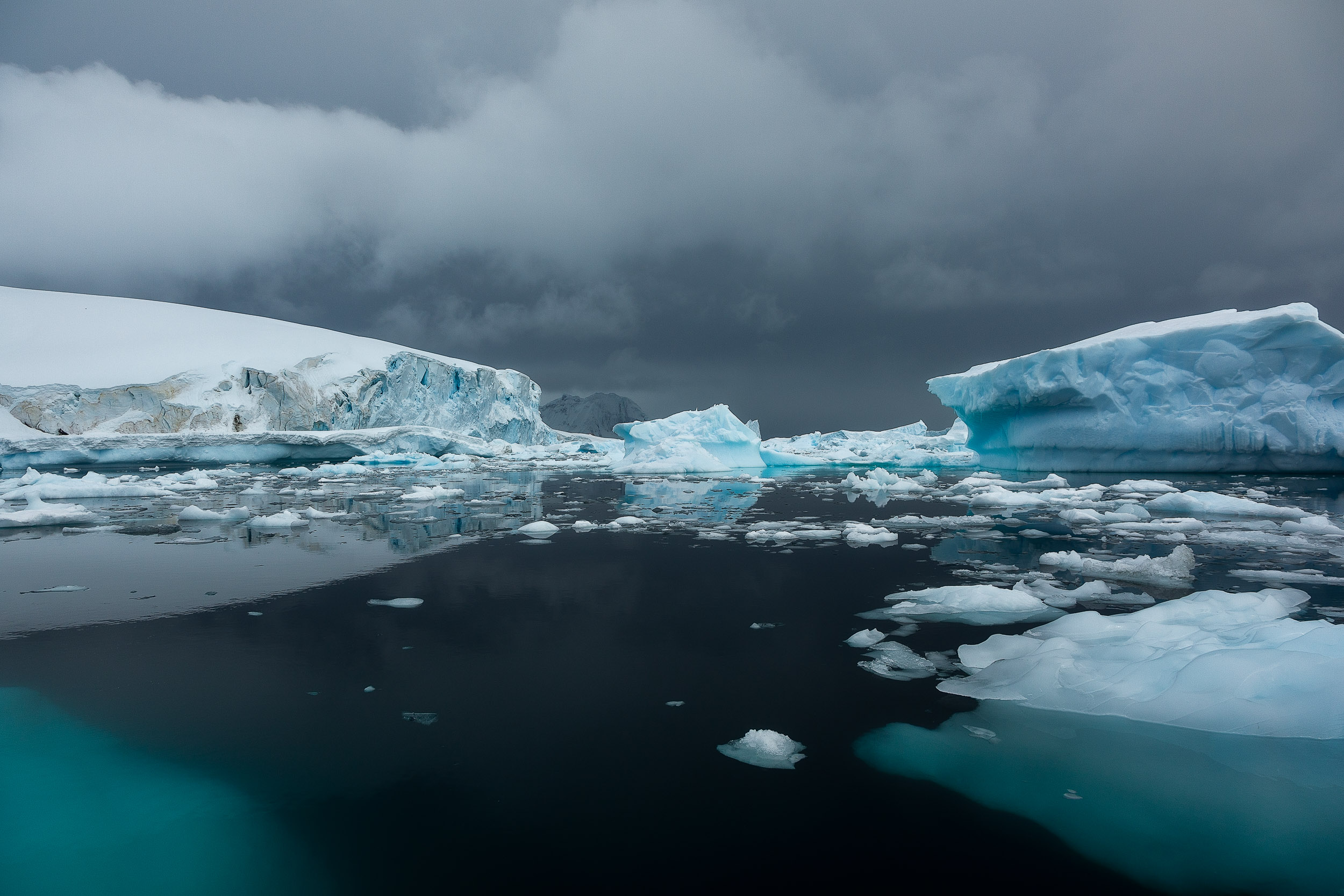 Photographing the    peaceful and calm waters    off    Cuverville Island    in    Antarctica    was one of the great joys of my life, thus far.