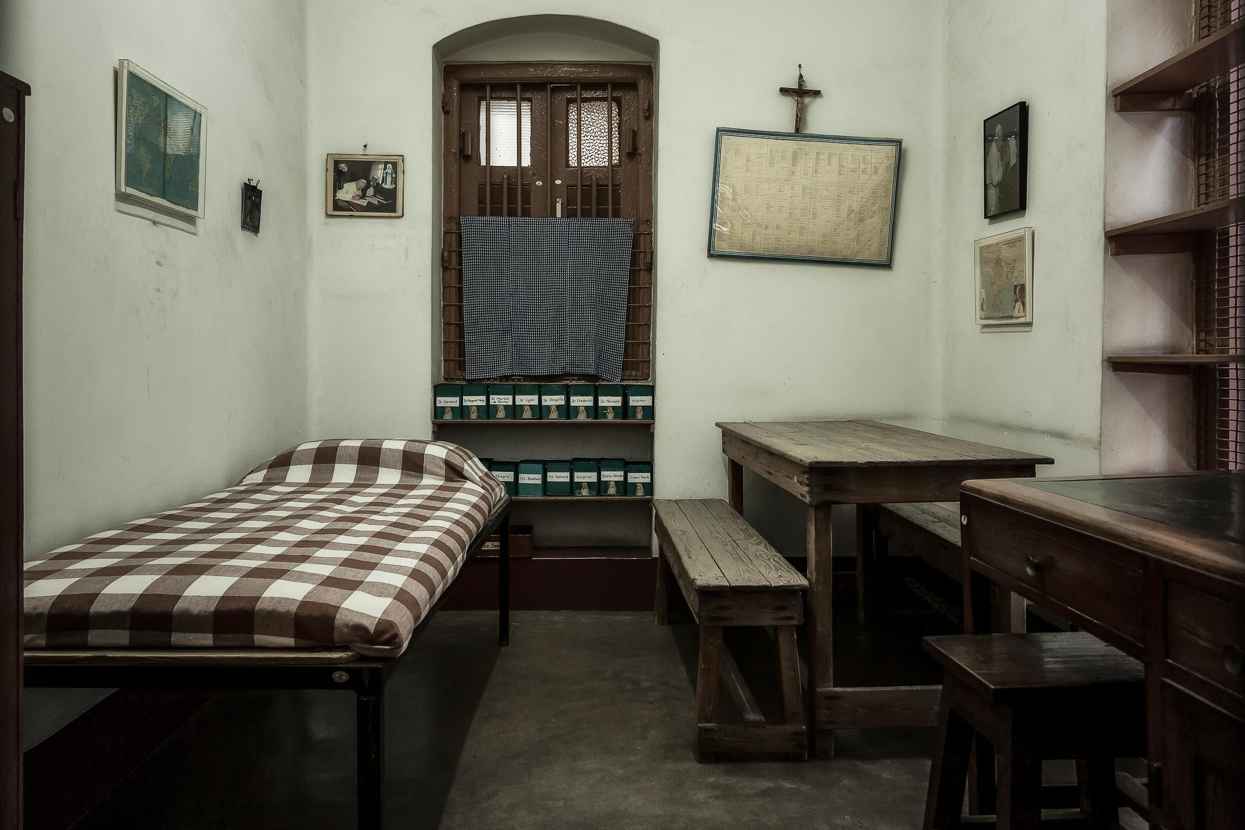 Mother Teresa's Bedroom, Kolkata, India