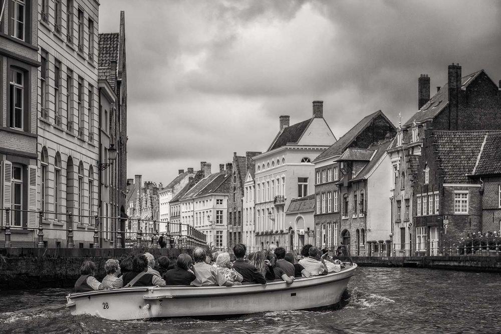 Boat Tour, Brugge, Belgium.