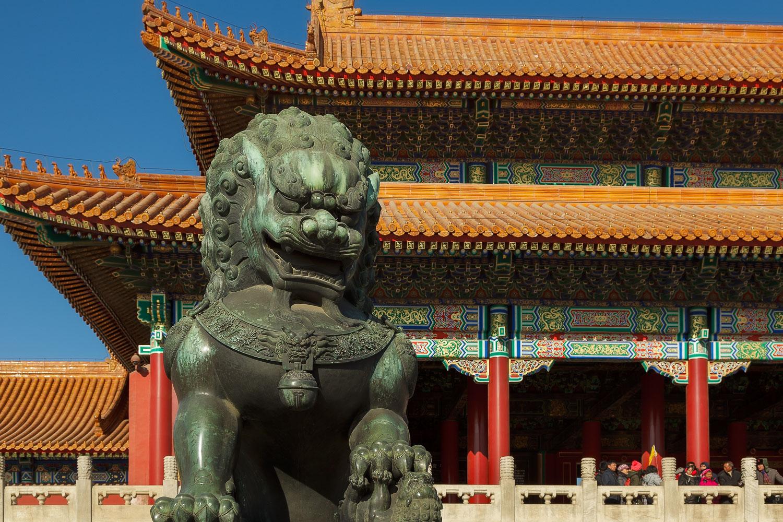 Stone Dragon, Temple Of Heaven, China