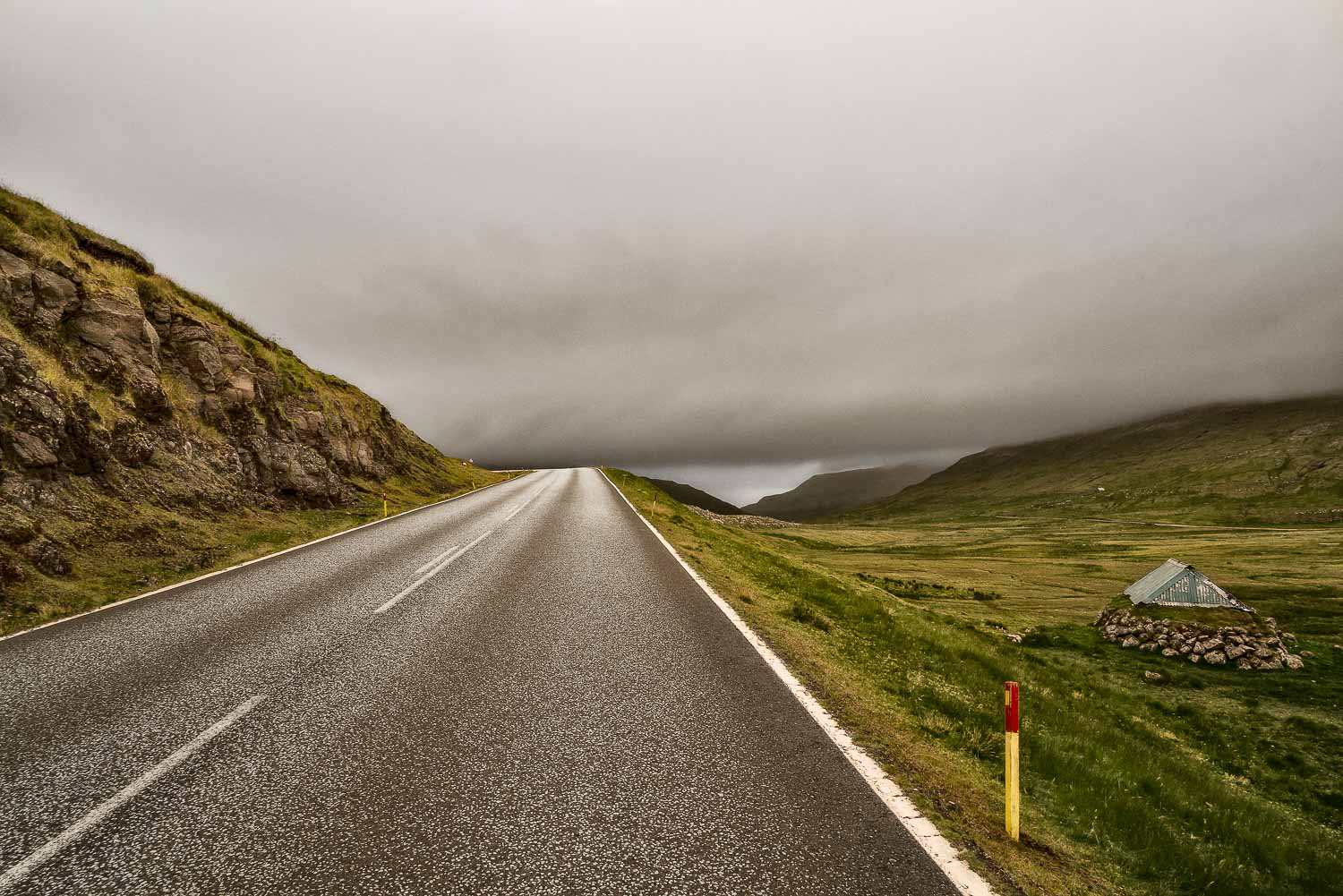 A journey around the    Faroe Islands    involves quite a bit of driving and, in many ways, it doesn't matter which way you go. You'll get to where you need to go, eventually. It's just a matter of surrendering to the journey and letting the adventure unfold with every turn in the road.