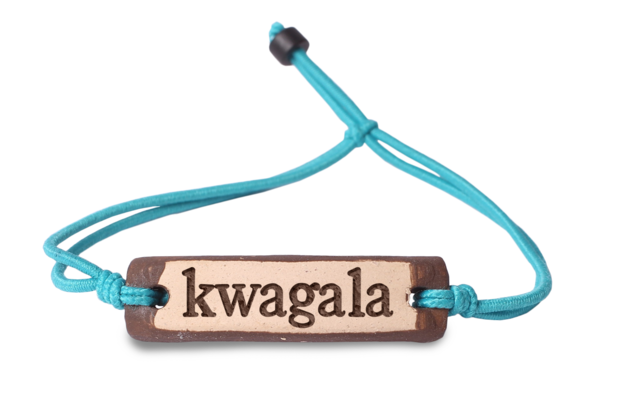 "The major language spoken in Kampala is Luganda.  There are over 50 languages in Uganda, but the one you will hear at home is Luganda.  Kwagala is love in Luganda.  ""There is only one happiness in this life, to love and be loved.""  George Sand"
