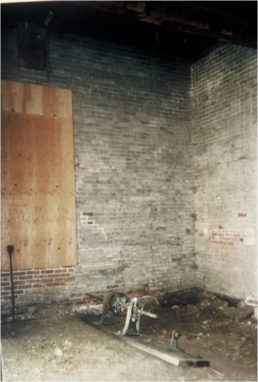 Initial excavation, 2001