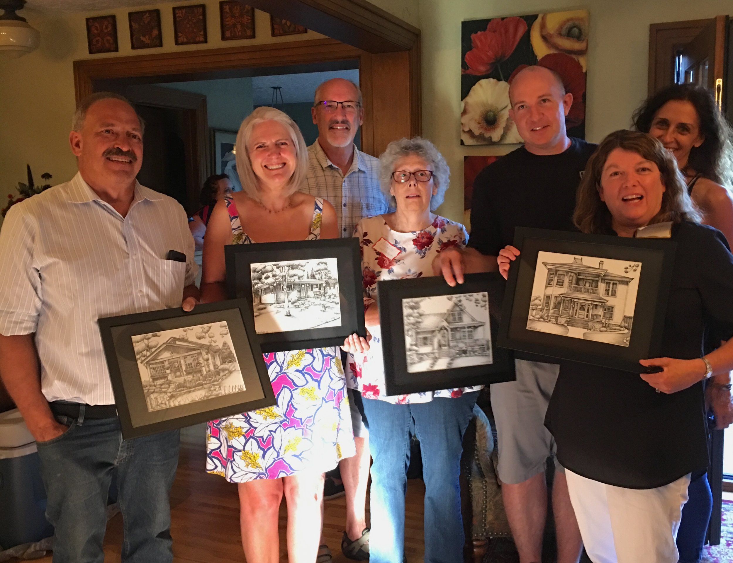 2018 Homeowners with sketches and artist K Bischoff.jpg