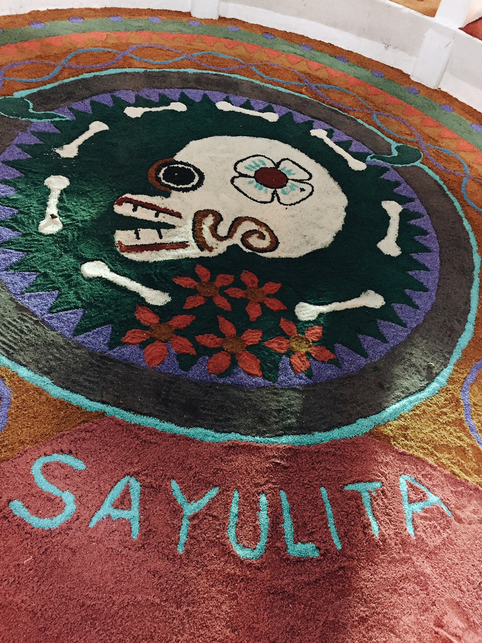 We arrived in Sayulita after spending a couple of quiet days in Puerto Vallarta getting our rusty Spanish tuned up, landing on the first night of Dia De Los Muertos and it was pure magic!
