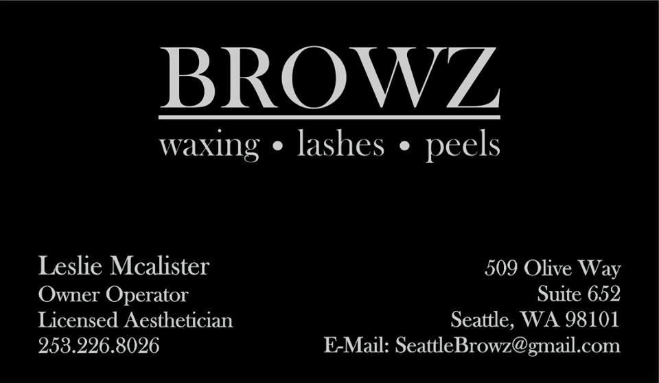 Go see Leslie, your brows will thank you!