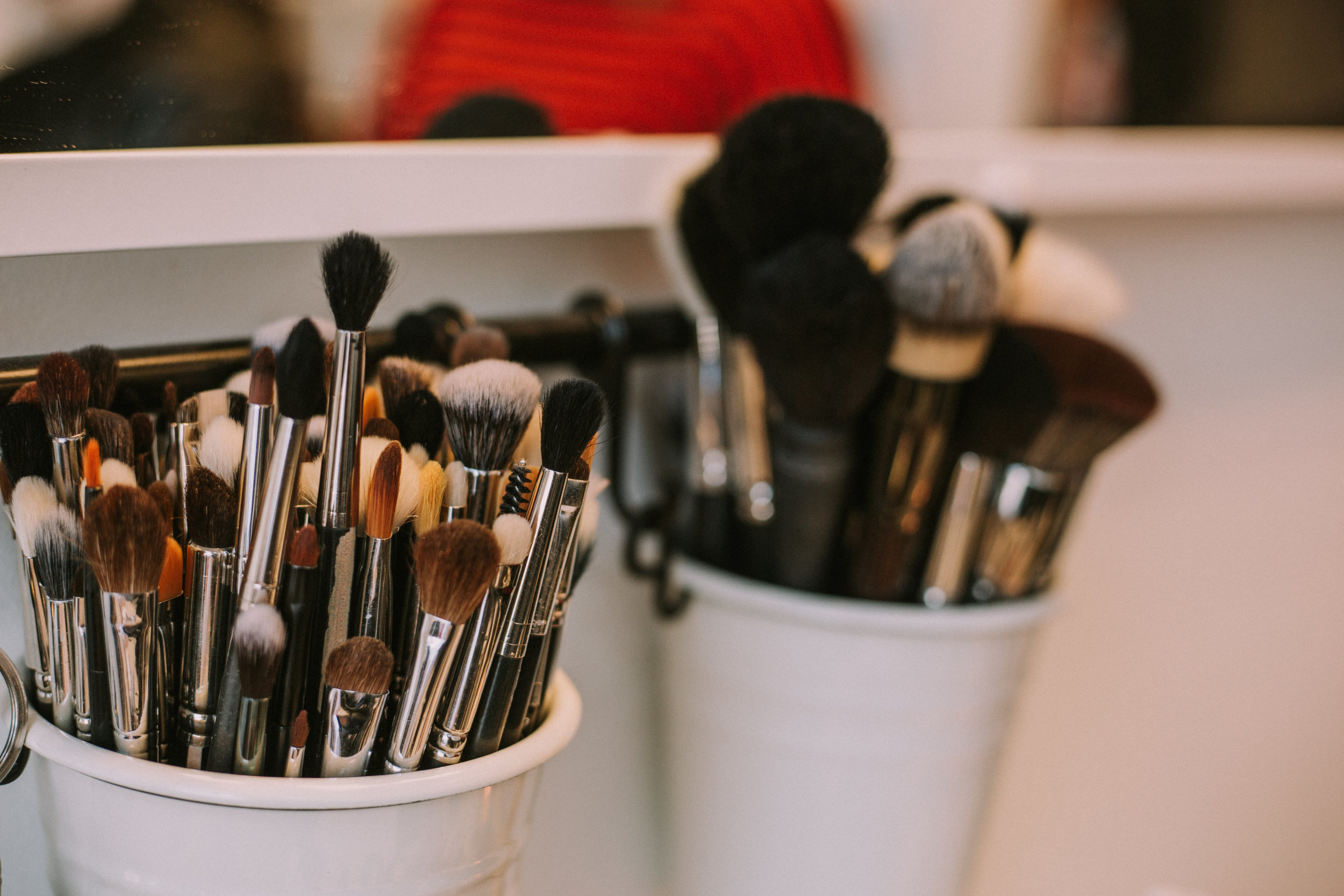 My tools! I belong to the Morphe Brush club it is a monthly subscription program. For $20 a month you get at least 3 brushes mailed to you and its the best way to grow your collection on a budget! Click  HERE  for the deets!