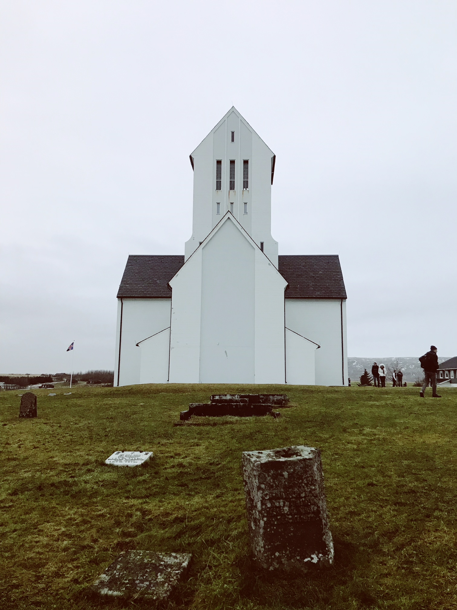 Our last stop on the tour, once of Iceland's many quaint churches. I loved the architecture of the island and its simplicity