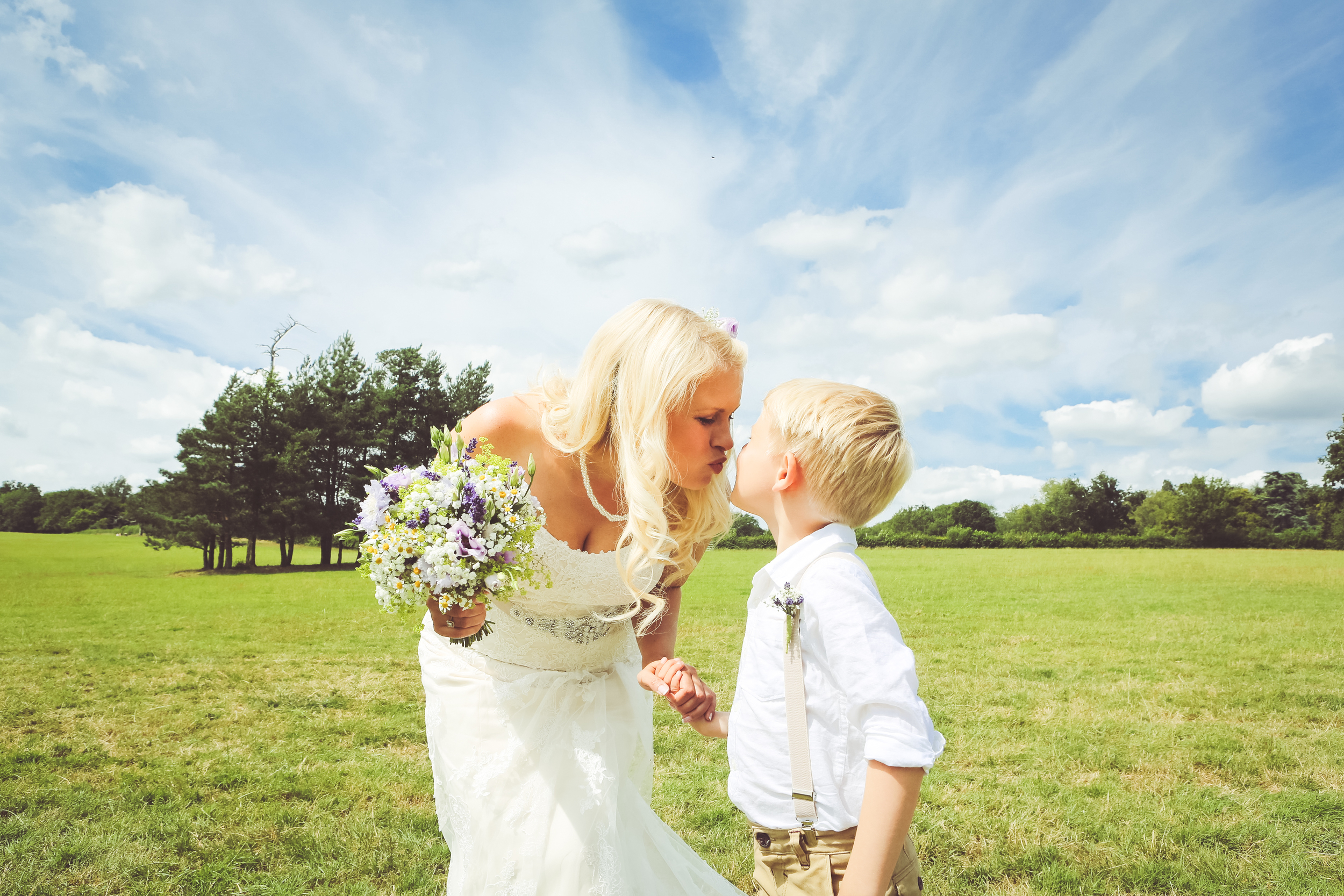 Vicky & Toms Wedding - Heavens Farm - Sussex