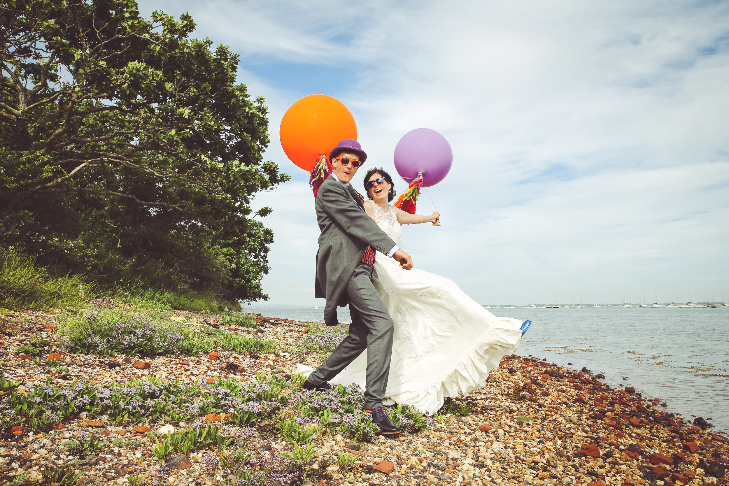 Sapphira & Tim - Tournerbury Woods Estate - Hayling Island