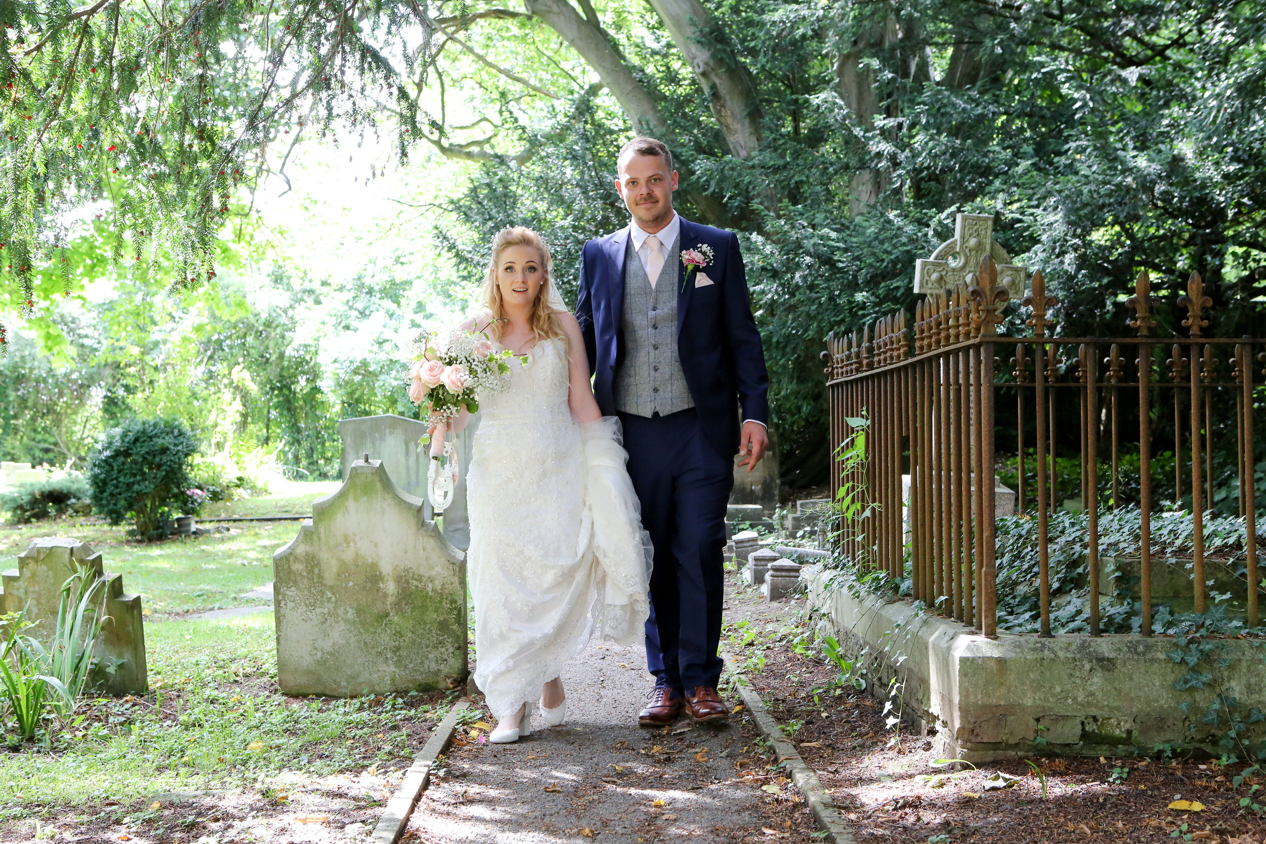 Sophie & James - Blindley Heath