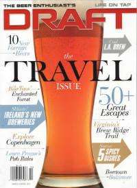Draft Magazine Cover