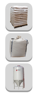 Gildale wood pellets available in 40 lb bags, 1 ton Totes, and Bulk Bin Service