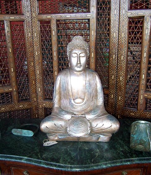 Silver Buddha - Indonesa  SOLD!