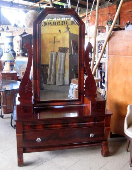 Solid vintage Rosewood Vanity Unit