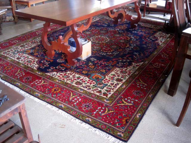 Authentic Persian 100% wool, handloomed