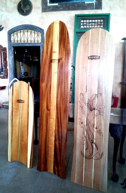 Retro Hawaiian Surfboards