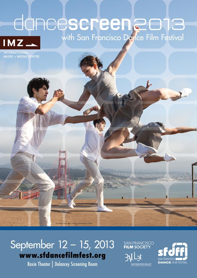 SF Dance Film Fest 2013 Poster