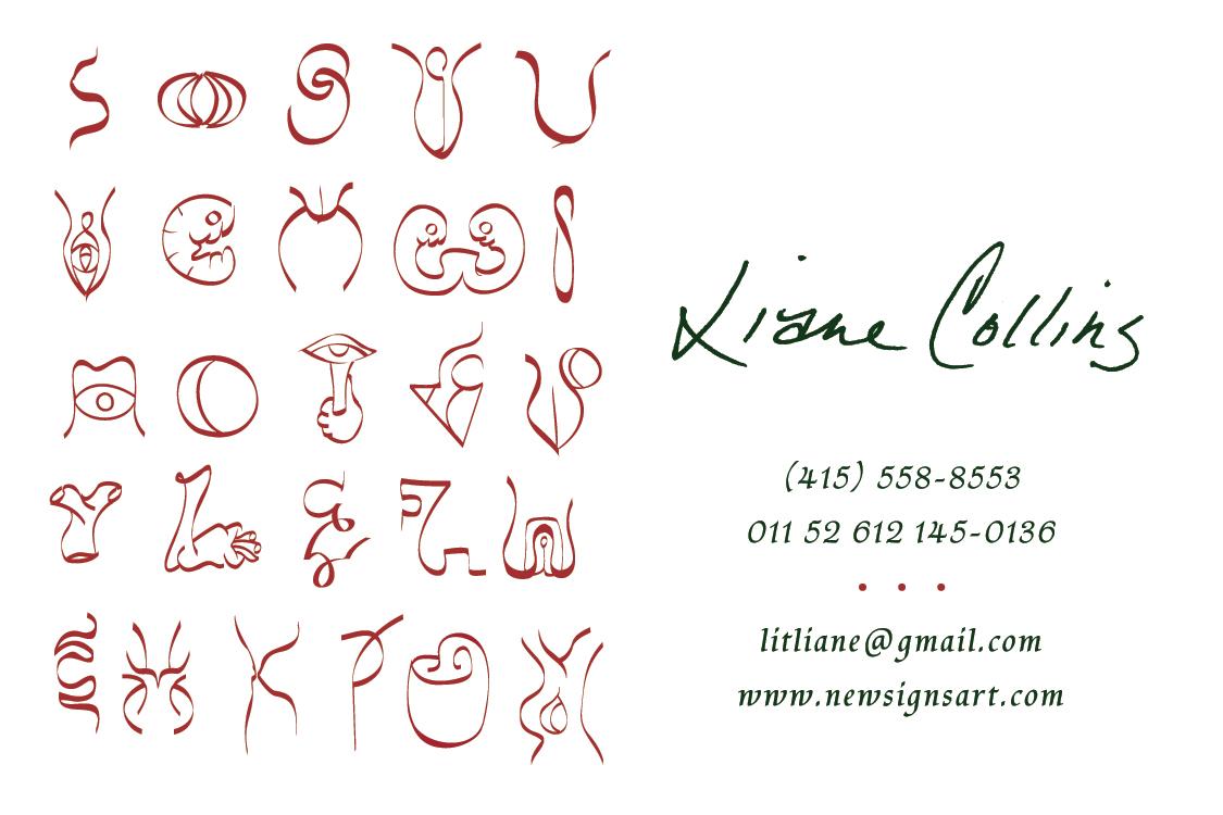 Liane Collins Business Card