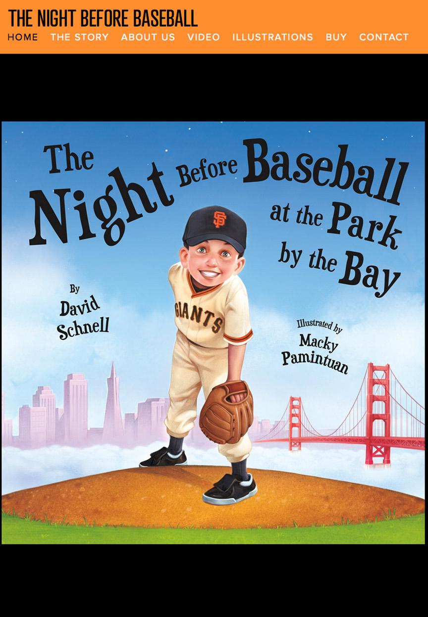 Night Before Baseball Website