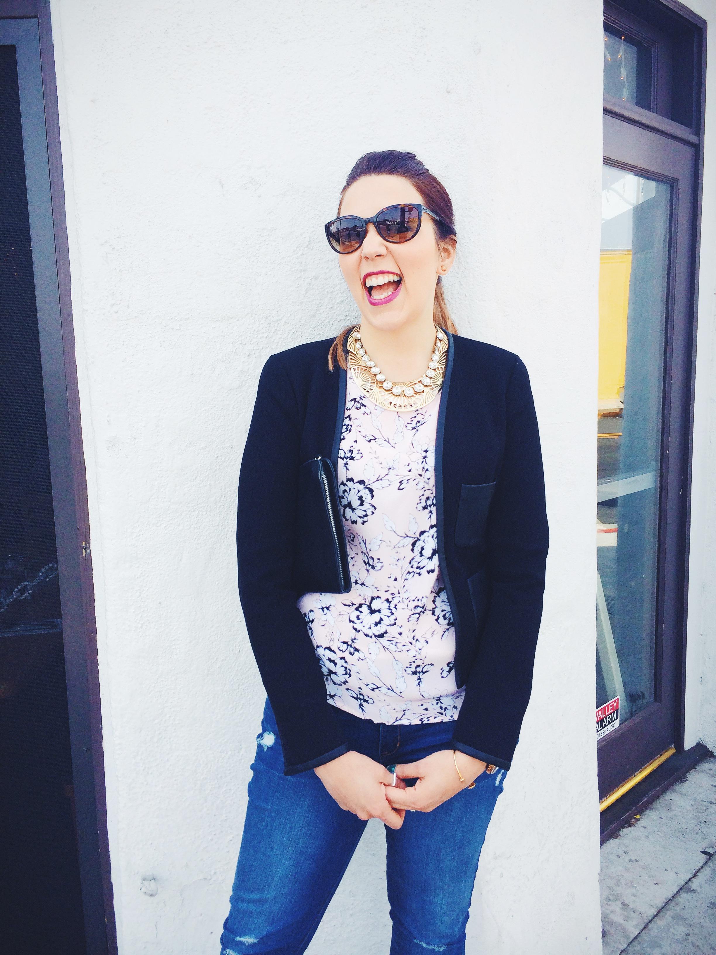 Katie Laughing