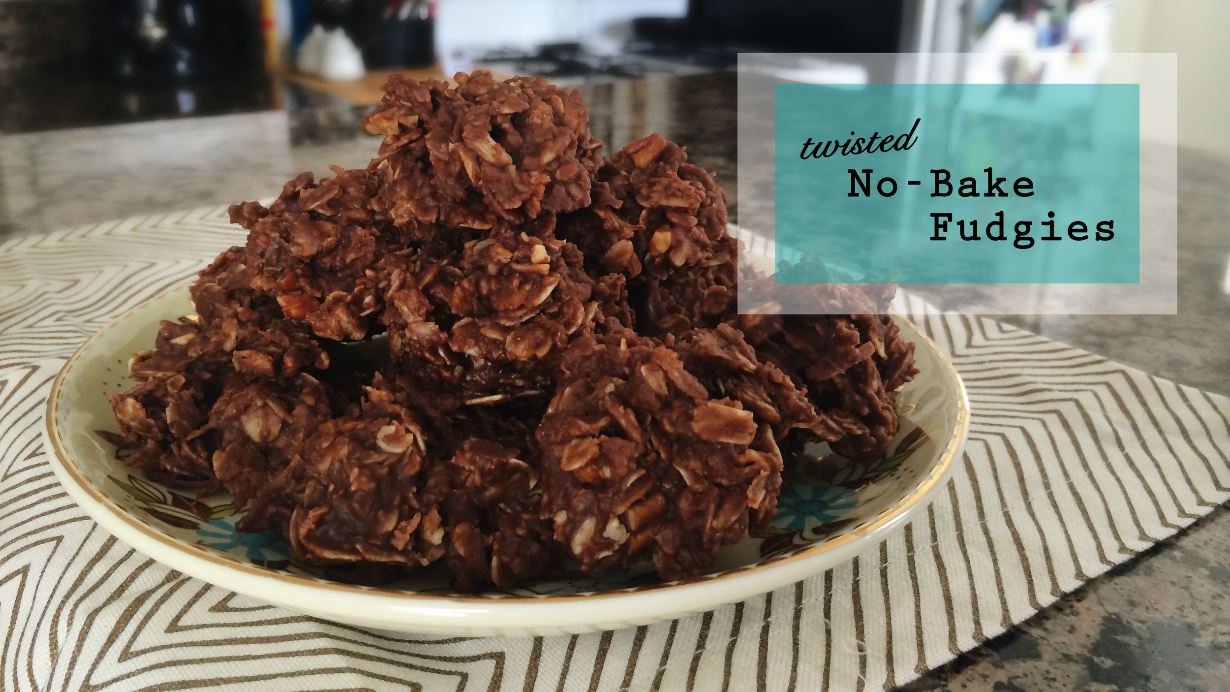 Twisted No Bake Fudgies