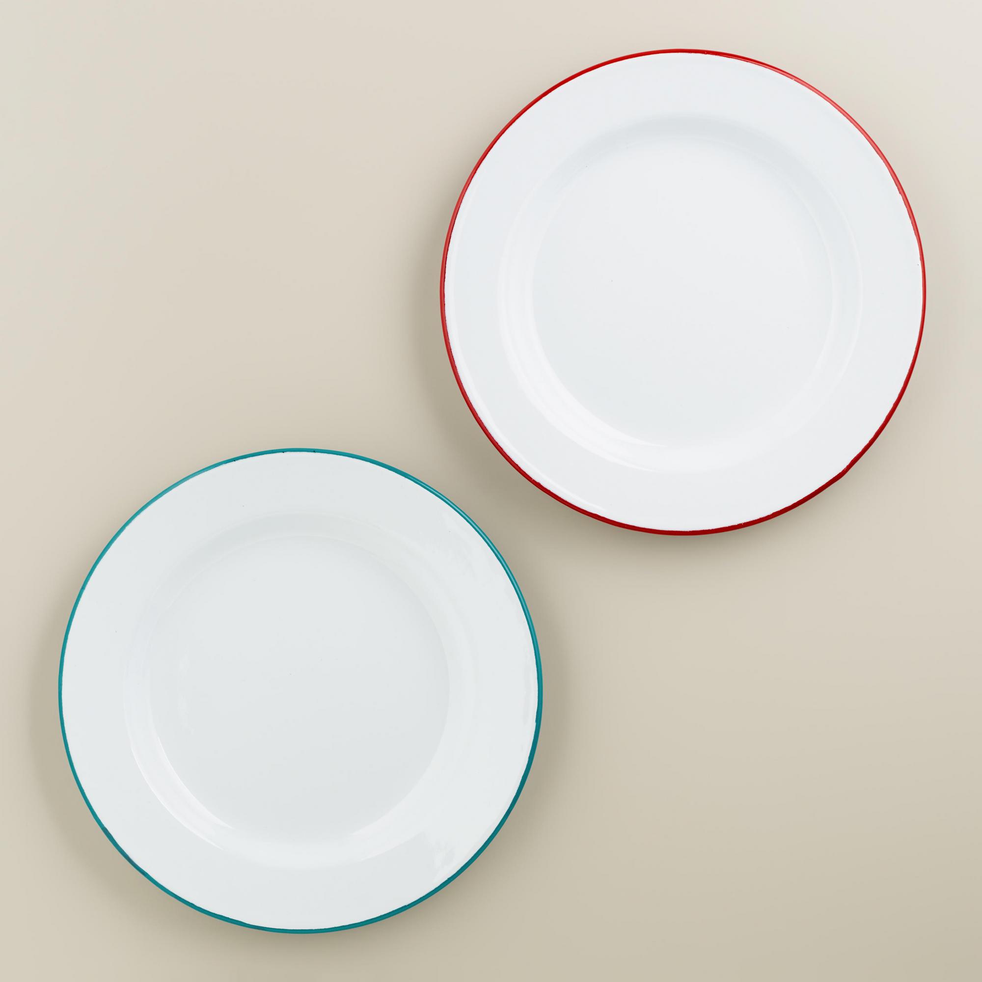 Enamel Plates