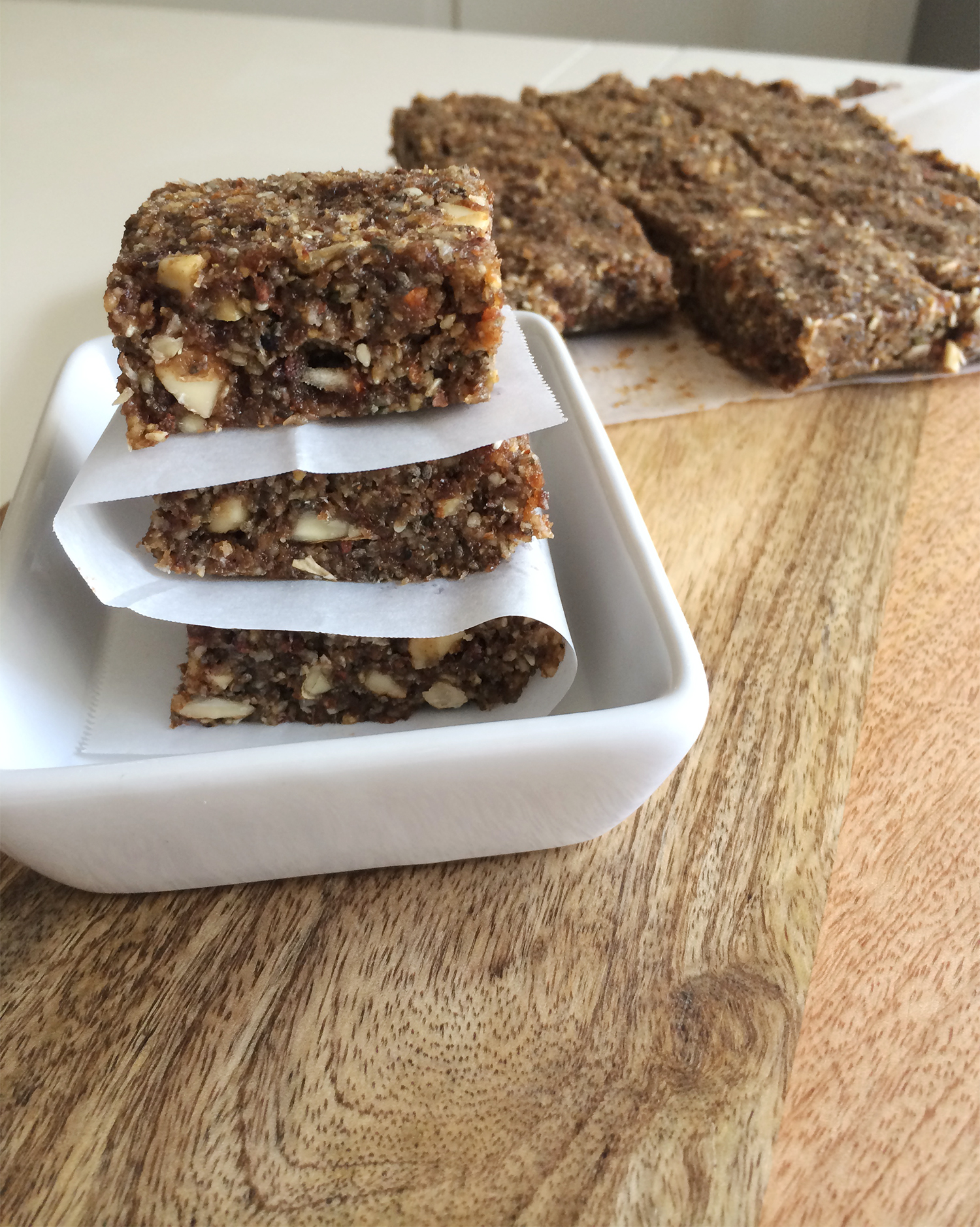 Stacked Energy Bars