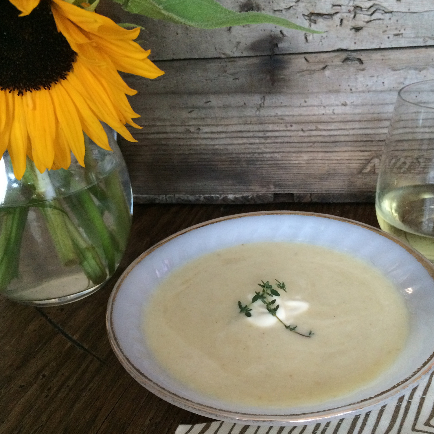 Celery Root & Fennel Soup