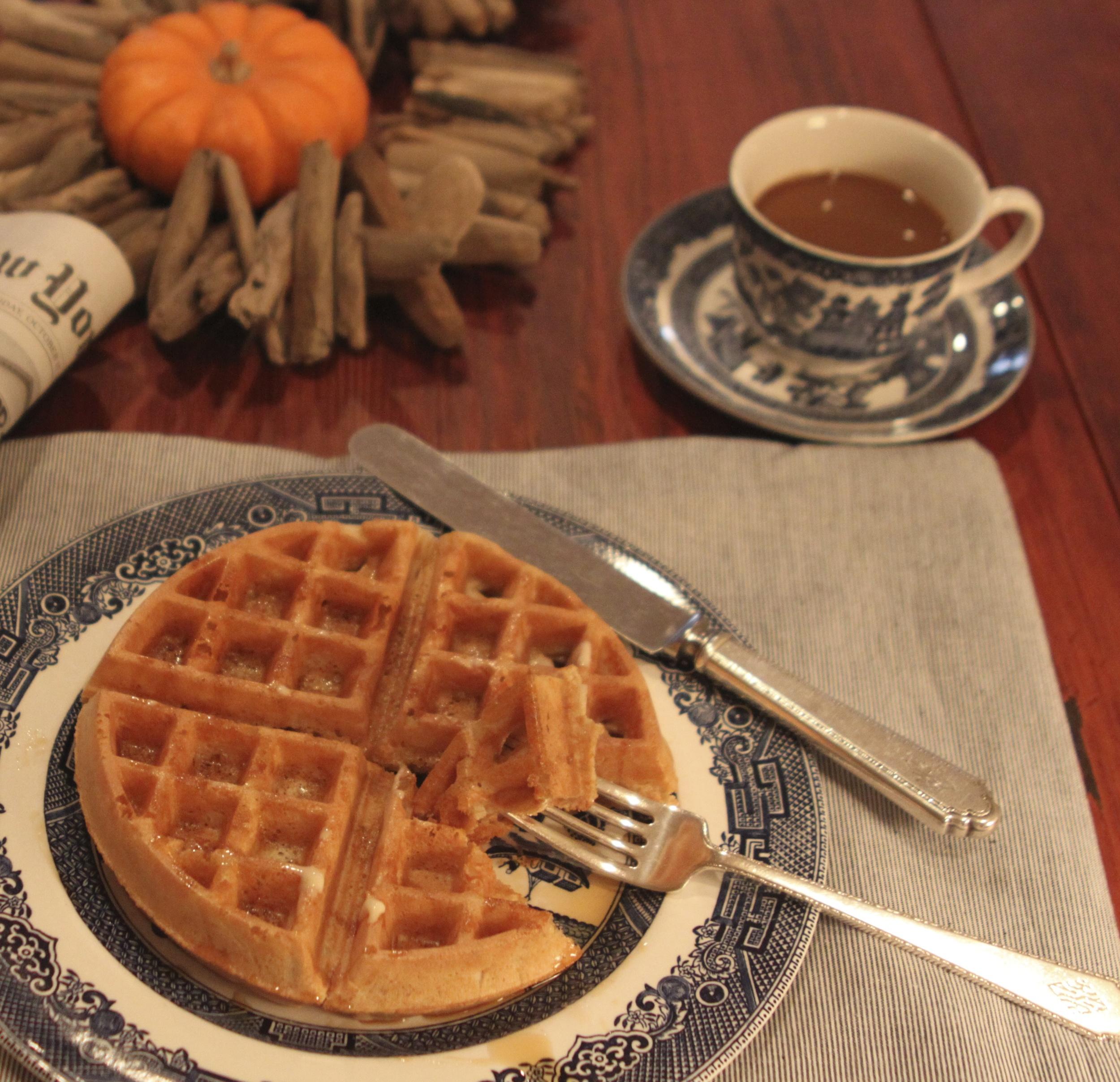 Gluten-Free & Dairy-Free Waffles