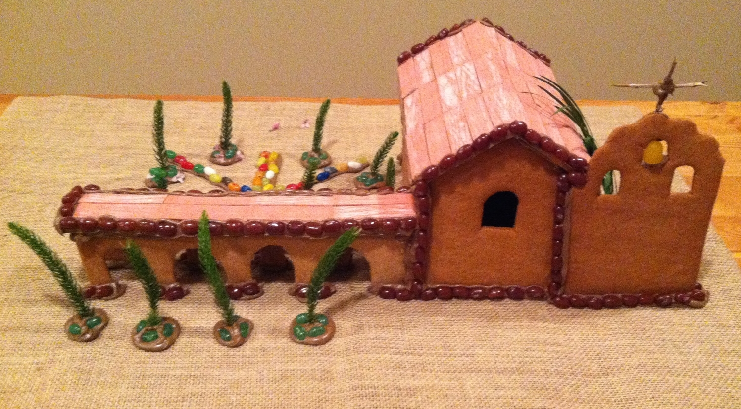Gluten-Free & Dairy-Free Gingerbread California Mission