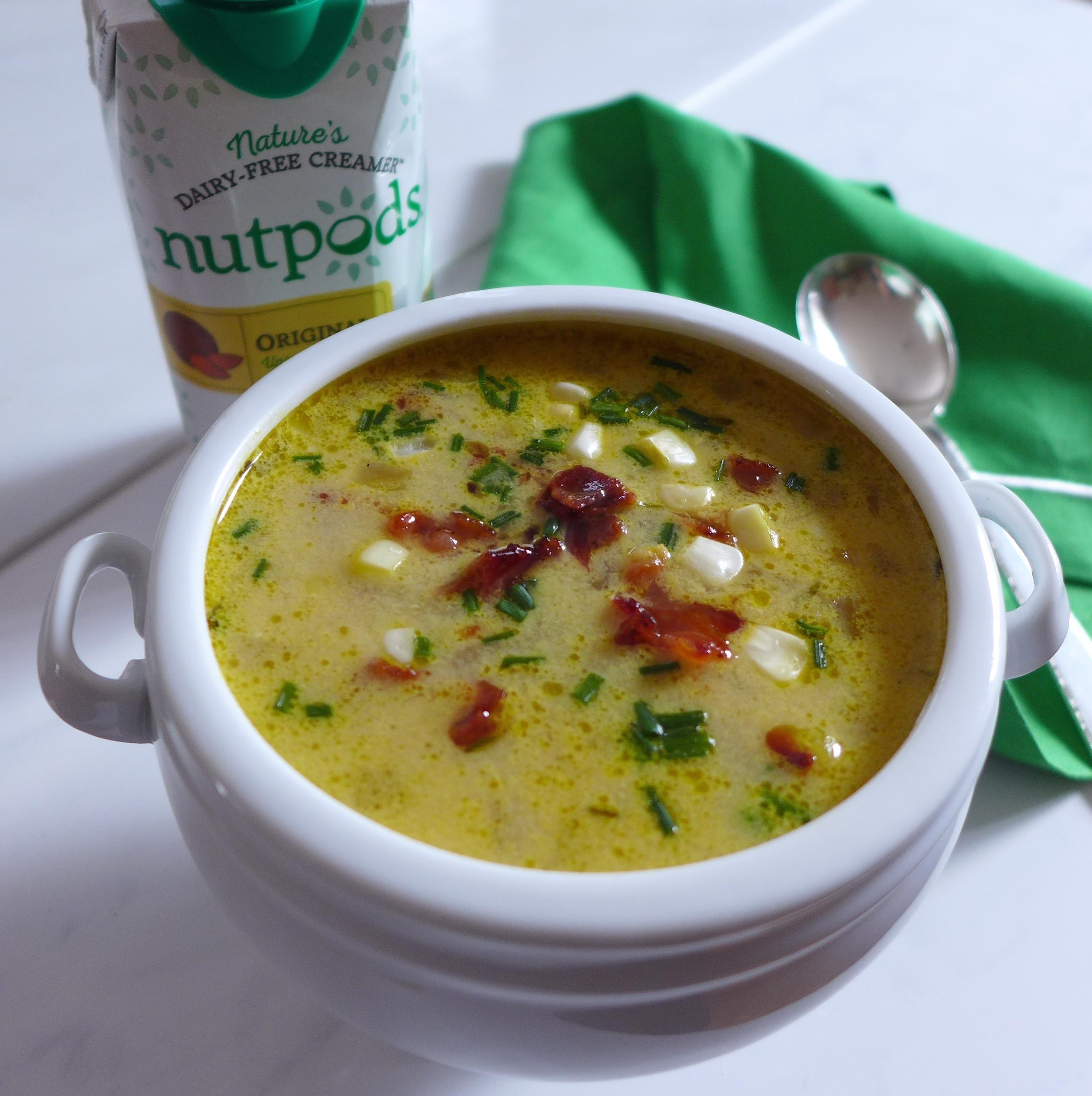 Corn Chowder with Nutpods Dairy-Free Creamer, Gluten-Free
