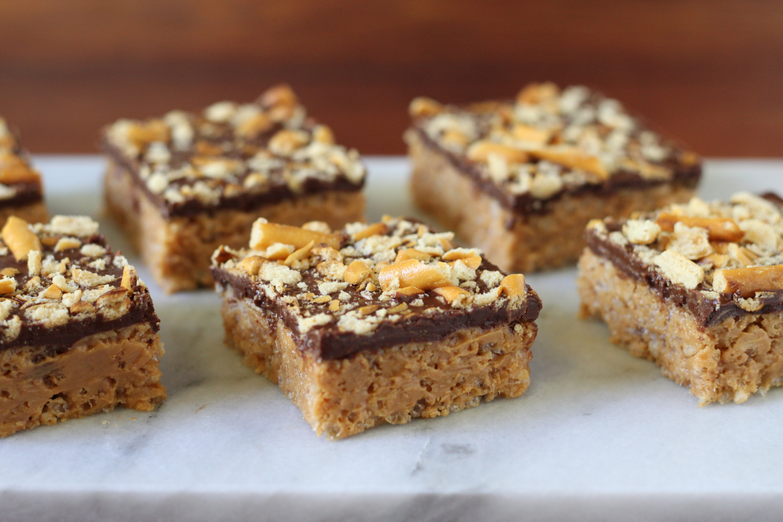 Gluten-Free Peanut Butter Squares, Dairy-Free Too!