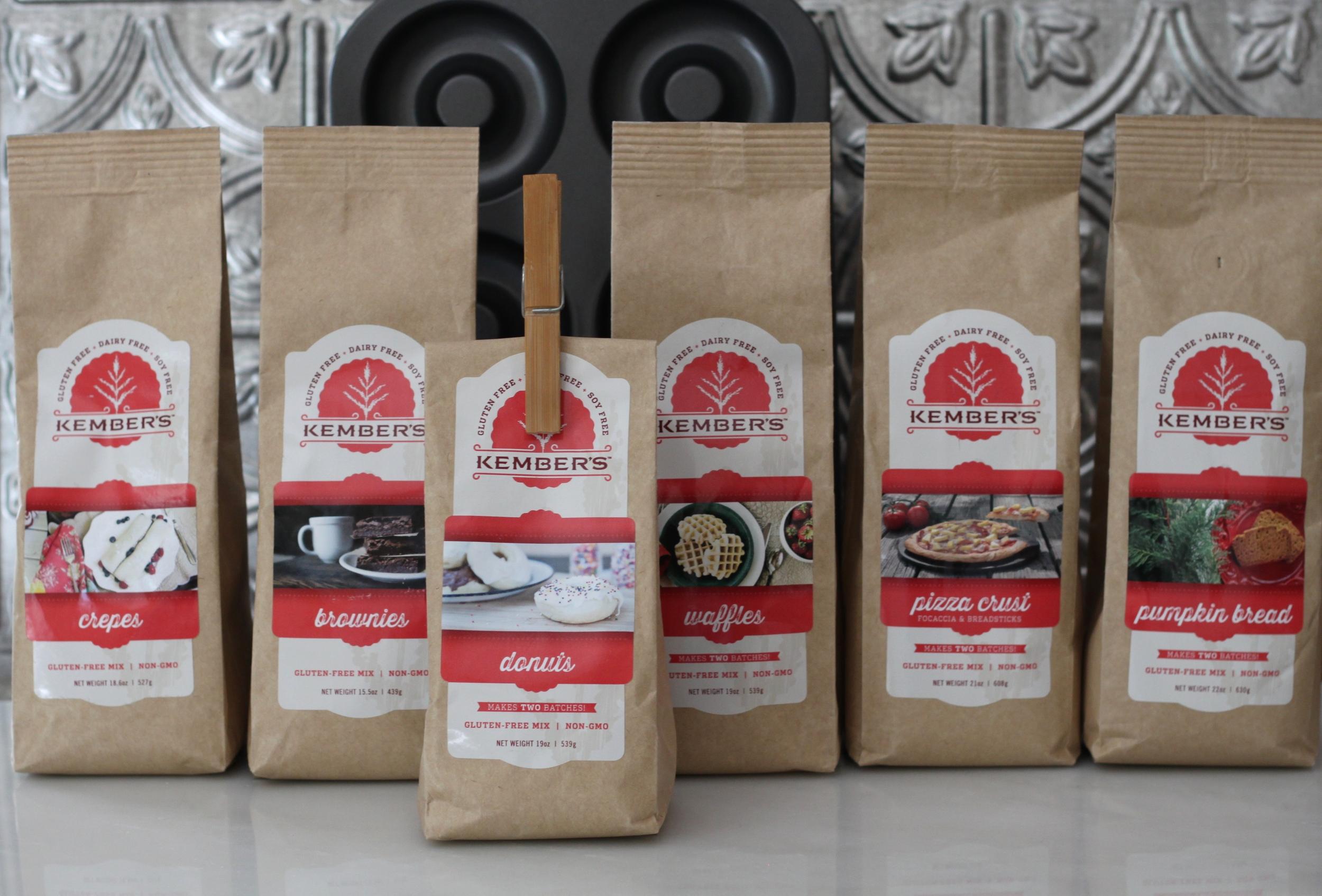 Kember's Gluten-Free Baking Mixes