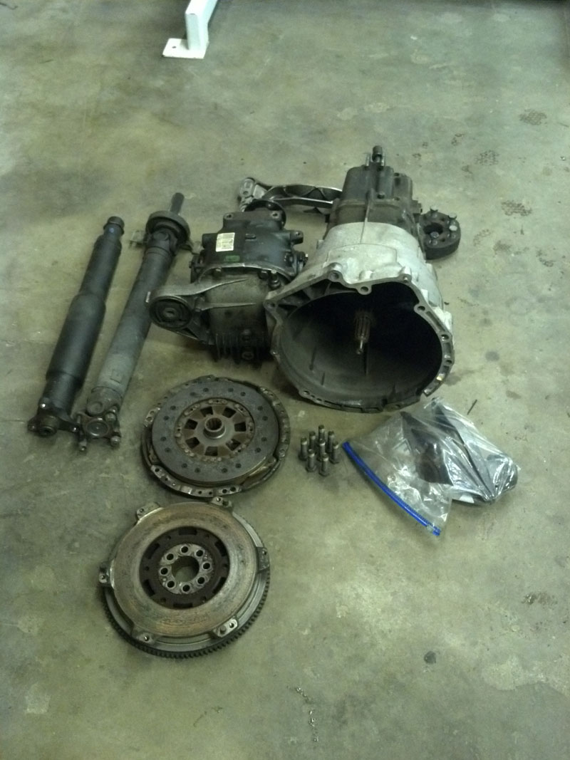 All of the old parts.
