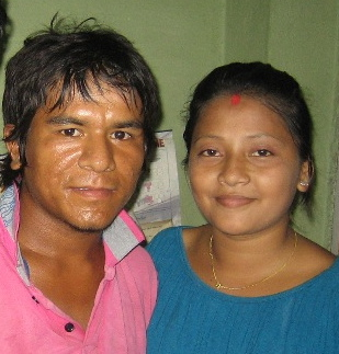 Nepali inter-caste couple Raj and Nisha tell their story in Untouchable Love, March 27 at the Camden Library.