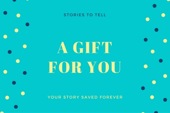 It's not too late to give the gift of a life story interview this holiday season.
