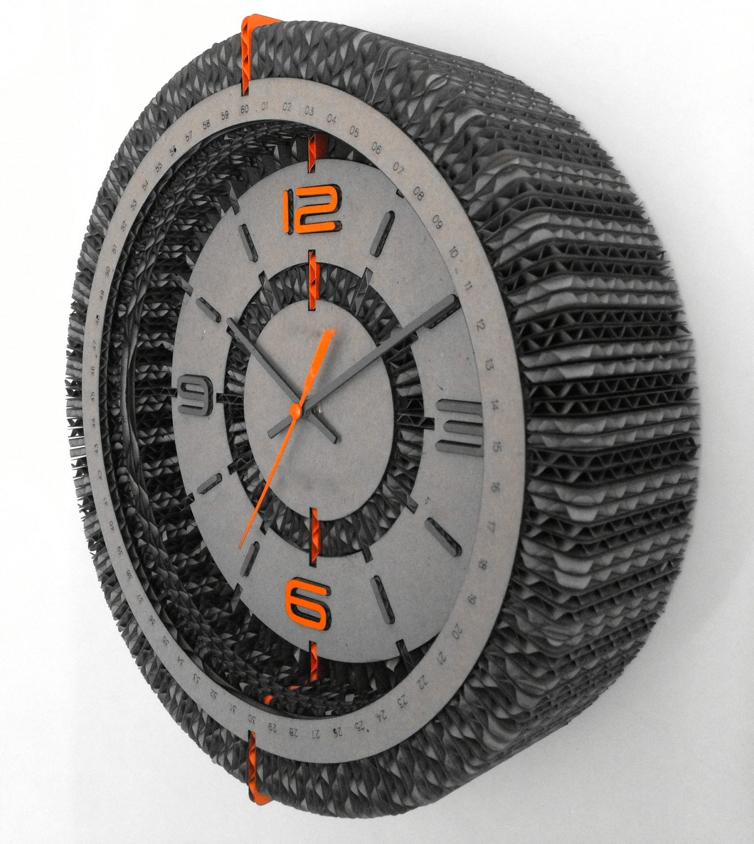 SWC-1 Cardboard Wall Clock