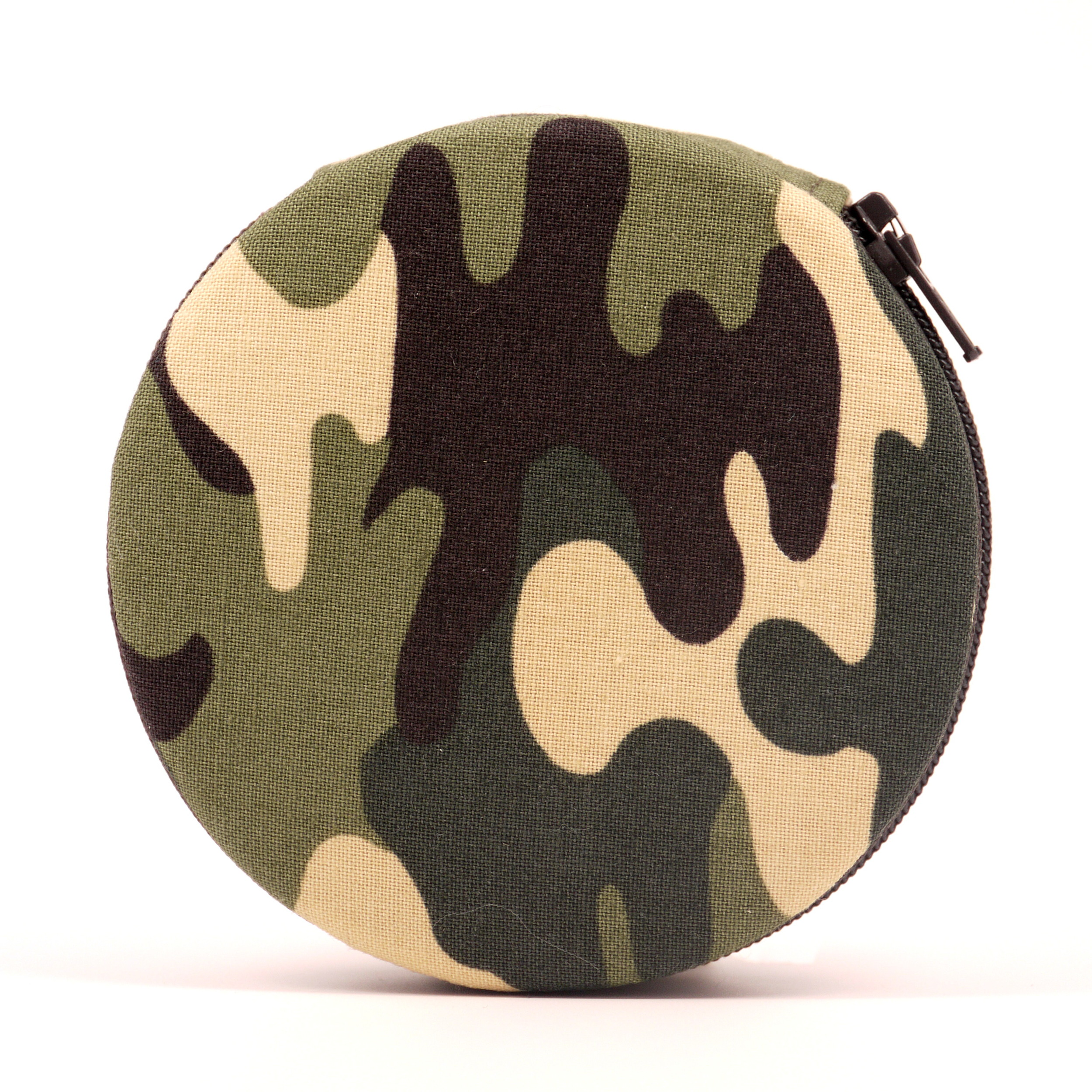 Camouflage Army Pill Box